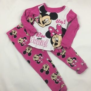 ❣️5/$20❣️ Minnie Mouse Pajamas 3T B19